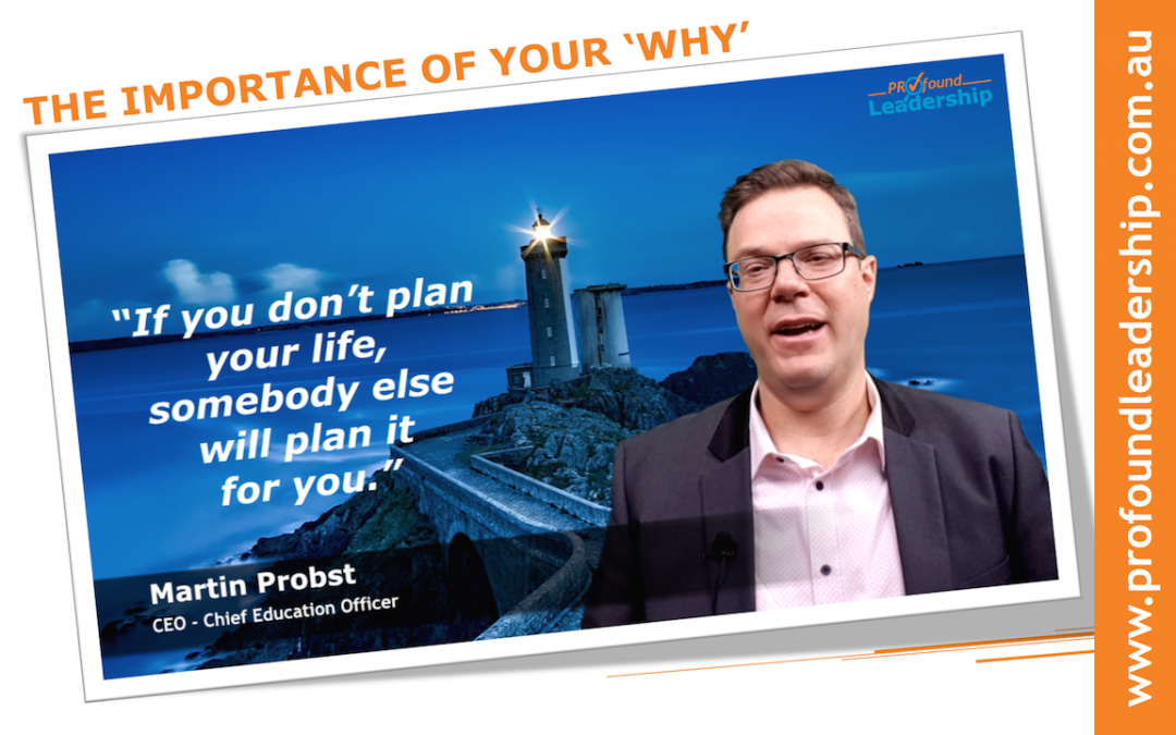 The Importance Of Your WHY