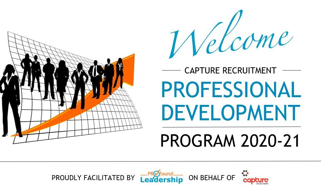 Capture Recruitment – Professional Development Program